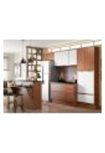 Cozinha Completa Calábria Ii 13 Pt 3 Gv Nogueira E Branca
