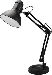 Luminária De Mesa Startec Empire B 18Cm X 18Cm X 52Cm Preto