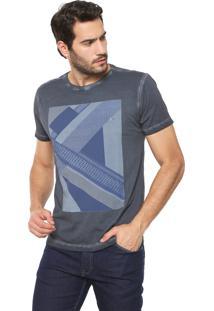 Camiseta Aramis Escher Grafite