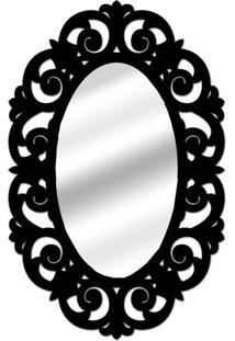 Espelho De Parede 14879P Preto 70X100 Art Shop