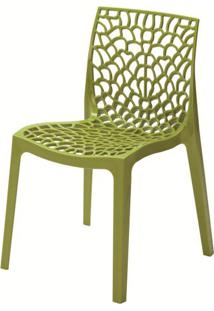 Cadeira Gruver Polipropileno Verde - 23075 - Sun House