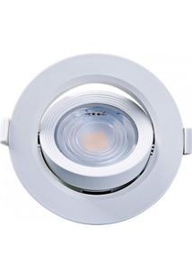 Spot Embutir Redondo Alltop Led Par20 7W 6500K 45º Taschibra 6500K Luz Branca