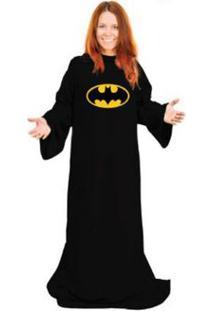 Cobertor Com Mangas Batman 1,60 X 1,30 M