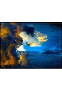 Jogo Americano Decorativo, Criativo E Descolado | Céu Com Nuvens - Tamanho 30 X 40 Cm