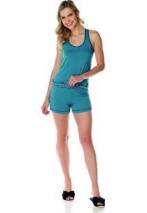 Pijama Sonno Vinci 87044 Verde