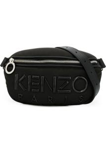 Kenzo Pochete Kombo Com Logo - Preto