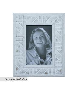 Porta Retrato- Branco & Bege- Tamanho Da Foto: 10X15Kapos