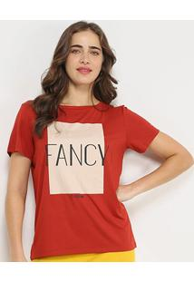 Camiseta Forum Fancy Feminina - Feminino