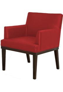 Poltrona Decorativa Lyam Decor Beatriz Corino Vermelho - Vermelho - Dafiti