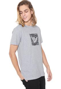 Camiseta Hang Loose Logattack Cinza
