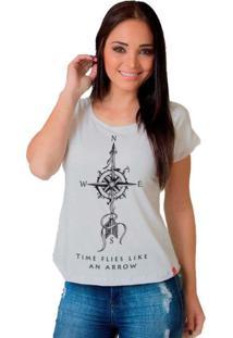Camiseta Wevans Flecha Tattoo Branco