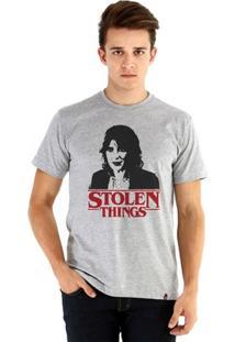 Camiseta Ouroboros Manga Curta Stolen Things Masculina - Masculino