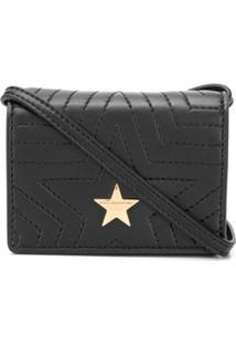 Stella Mccartney Bolsa Transversal Stella Star - Preto