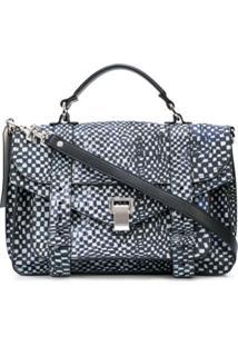Proenza Schouler Bolsa X Harmony Korine Ps1 Média - Azul