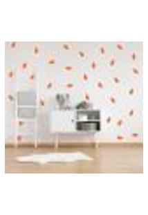 Adesivo Decorativo De Parede - Kit Com 65 Folhas - 025Kab09