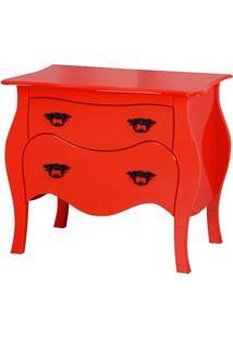 Cômoda Barcelona - Vermelho - Tommy Design