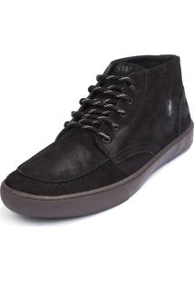 Bota Side Walk Bota Garage Preto