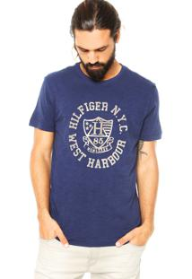 Camiseta Tommy Hilfiger Thiery Azul
