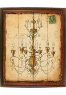 Quadro Decorativo De Parede Sheen Com Moldura