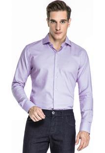 Camisa Hugo Rossi Maquinetada Roxa I