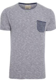 T-Shirt Masculina West Point - Cinza