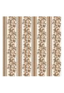 Papel De Parede Adesivo - Listrado Floral - 012Ppv