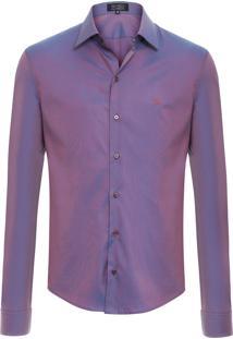 Camisa Masculina Monterey - Roxo