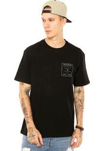 Camiseta Nicoboco Tye Etnic Preta