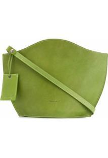Marsèll Bolsa Tote Estruturada - Verde