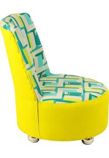 Poltrona Lazer Summer B07-B02 Amarelo Stay Puff