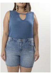 Bermuda Jeans Lisa Curve & Plus Size