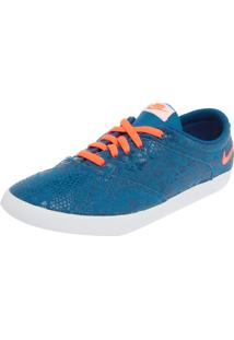 Tênis Nike Sportswear W Mini Sneaker Lace Print Azul