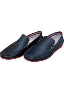 Mocassim Navit Shoes Driver Preto