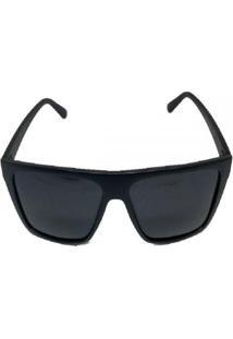 Óculos De Sol Cayo Blanco Quadrado Masculino - Masculino-Preto