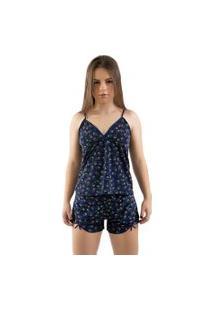 Baby Doll 4 Estações Pijama Dormir Fresquinho Liganete Estampado Feminino Curto