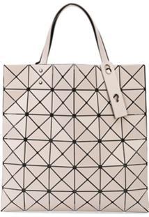 Bao Bao Issey Miyake Bolsa Tote Com Padronagem Geométrica - Neutro