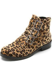 Bota Dafiti Shoes Onça Amarelo