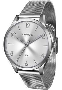 Relógio Lince Analógico Lrm4394L-S2Sx Feminino - Feminino-Prata