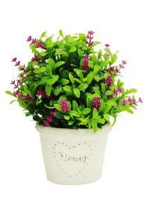 Vaso De Mini Flores