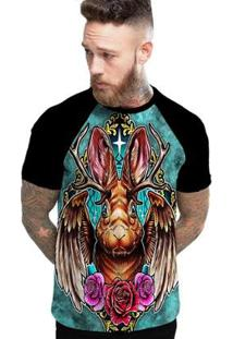 Camiseta Stompy Raglan Modelo 37 Masculina - Masculino