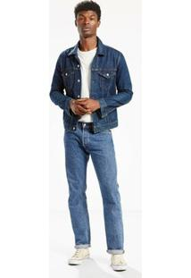 Calça Jeans Levi'S 501 Original Masculina - Masculino-Azul