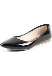 Sapatilha Tag Shoes Verniz Preta