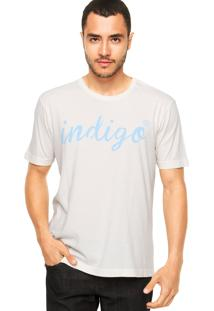 Camiseta Vila Romana Indigo Off-White