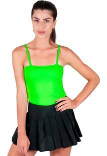 Body Neon Part.B Verão Total Verde Com Bojo