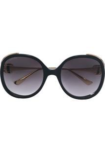 Gucci Eyewear Óculos De Sol - Preto