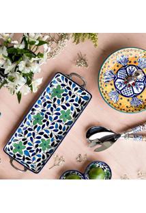 Bandeja De Cerâmica Bloom