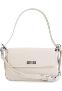 Bolsa Santa Lolla Flap Lisa Feminina - Feminino-Off White