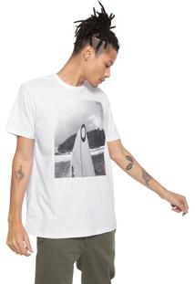 Camiseta Oakley Mod Enjoing Life Branca
