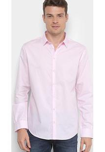 Camisa Social Forum Smart Masculina - Masculino