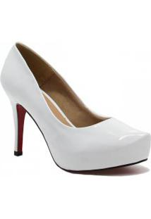 Sapato Zariff Shoes Pump Noivas Verniz